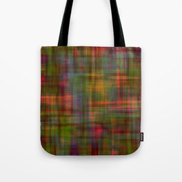 Multicolored Abstract Modern Pattern Tote Bag