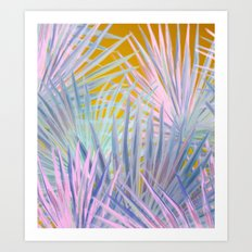 Jungle Abstraction Art Print