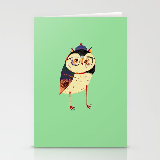 Owl Cutey. Stationery Cards