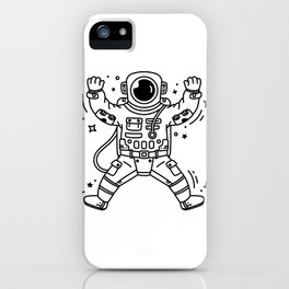 Cosmic Stranger 4 iPhone Case