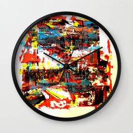 space is space Wall Clock