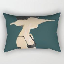 Shot Thoughts Rectangular Pillow