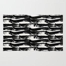Brush Stroke Waves Rug