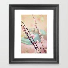 Spring is calling Framed Art Print