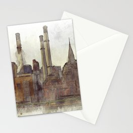 Manhatten Heating Station - SKETCH Stationery Cards
