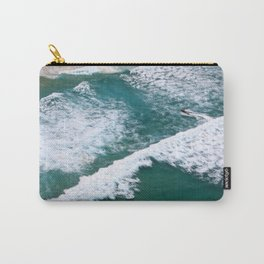 With Waves Carry-All Pouch