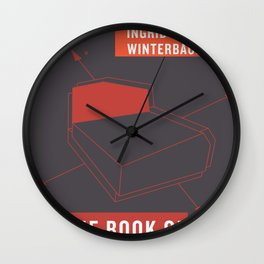 The Book of Happenstance Wall Clock