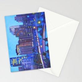 Denver Skyline Stationery Cards
