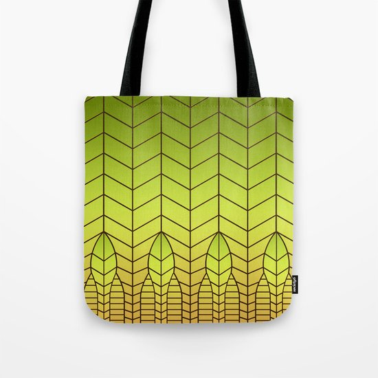 LET THERE BE LIGHT (abstract geometric) Tote Bag