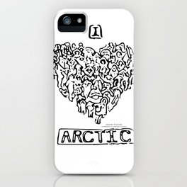 I Heart Arctic By Joseph Winters iPhone Case