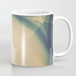 Abstractions in Cyan Coffee Mug