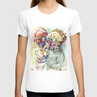 pugs T-shirts featuring Summer pugs by Stin