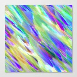 Colorful digital art splashing G401 Canvas Print