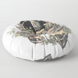 the priest Floor Pillow