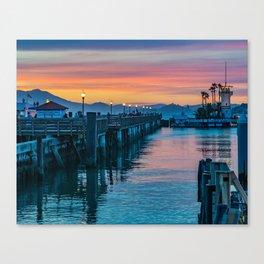 Pier 41 San Francisco Canvas Print