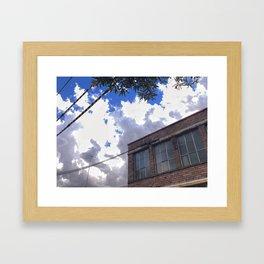 Briggs Street Framed Art Print