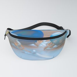 Shimmering Ornaments Fanny Pack