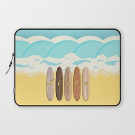 Aloha Surf Wave Beach Laptop Sleeve