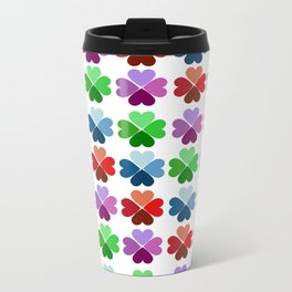 Clover Metal Travel Mug