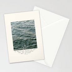 Set Sail (Franklin Delano Roosevelt Quote) Stationery Cards