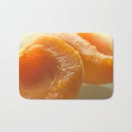 Slice apricots Bath Mat