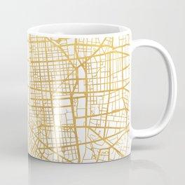 LYON FRANCE CITY STREET MAP ART Coffee Mug