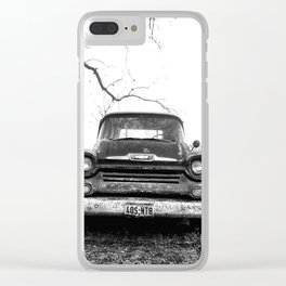 Chevy, Vintage Truck Clear iPhone Case