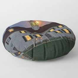 In the Days of Old Colonial New England Floor Pillow