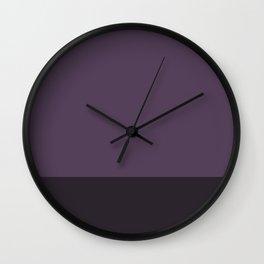 Deeper Lavender Dream - Color Therapy Wall Clock