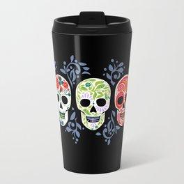 Sugar Skulls_Celebracion del Color line_Calaveras_RobinPickens Travel Mug