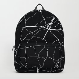 Mississippi State Road Map Backpack