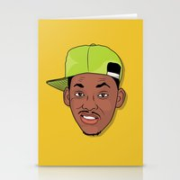 fresh prince Stationery Cards featuring Fresh Prince of Bel-Air by TheMohamz
