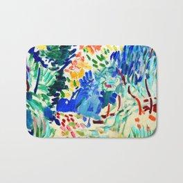 Henri Matisse Landscape at Collioure Bath Mat