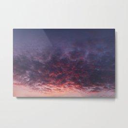 January Skies  Metal Print