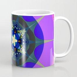 Fract6al Design - Stars and Circles II Coffee Mug