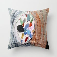 Sand Return Throw Pillow