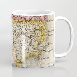 Vintage Map of North Carolina (1822) Coffee Mug