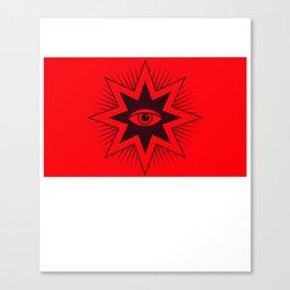 All Seing Eye Symbol Canvas Print