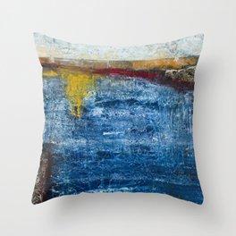 Homage to a ruler - Ocean Throw Pillow