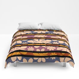 Flowers interrupted Comforters