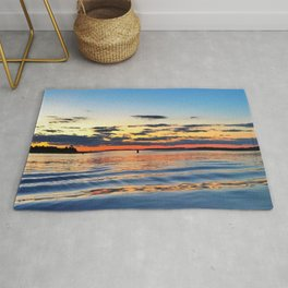 Sunset In the Hamptons Rug