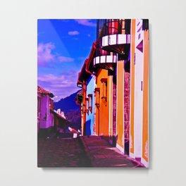 HOUSES OF THE CITY Metal Print