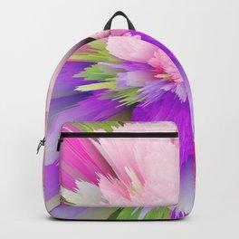 flower bloom c Backpack