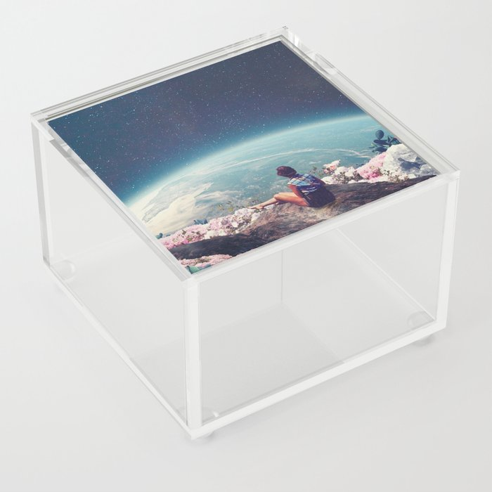 My World Blossomed when I Loved You Acrylic Box