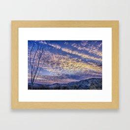 Weldon Winter Sky Framed Art Print