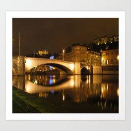 The Bonaparte bridge Art Print