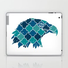 EAGLE SILHOUETTE HEAD WITH PATTERN Laptop & iPad Skin
