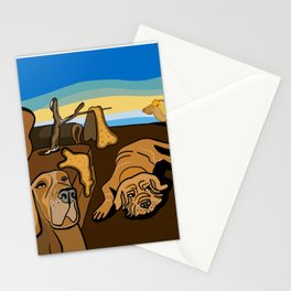 Persistence Of Dog Stationery Cards