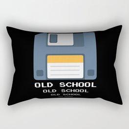 Old School Computer Floppy Diskette Rectangular Pillow