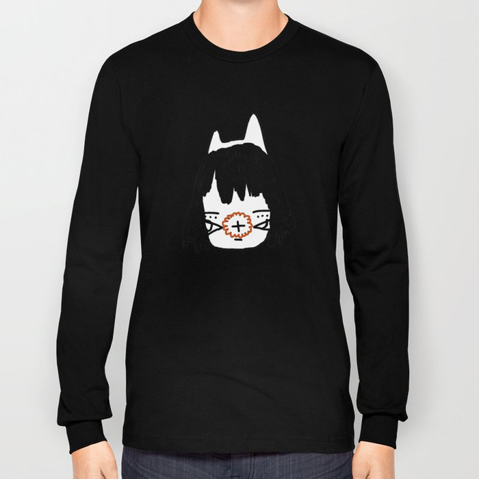 「a cat throne.」 Long Sleeve T-shirt